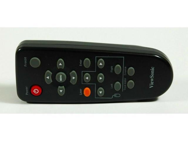 Refurbished: OEM ViewSonic RC-07751GP Remote Control for ViewSonic PJ559DC  PJ560DC PJD6240 - Newegg com