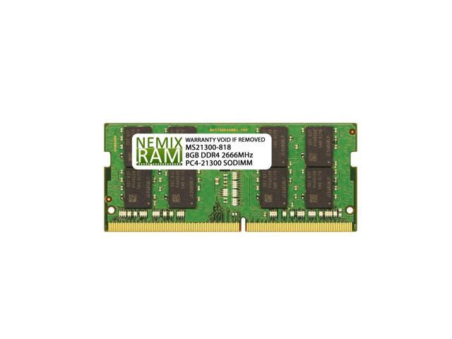 NEMIX RAM 8GB DDR4-2666 SODIMM 1Rx8 Memory for ASUS Laptops - Newegg com