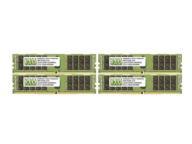 64GB Kit 2x32GB 2400MHz RDIMM 2Rx4 for Dell Servers by Nemix Ram