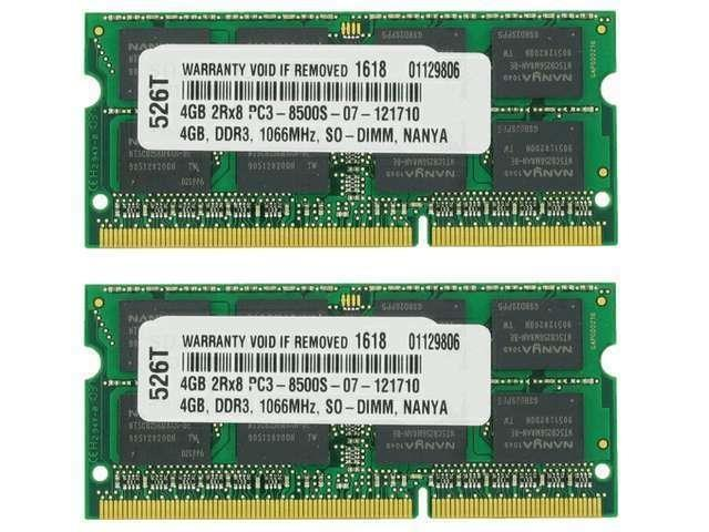 2X4GB MEMORY FOR DELL STUDIO XPS 1640 XPS 1645 XPS 1647 8GB