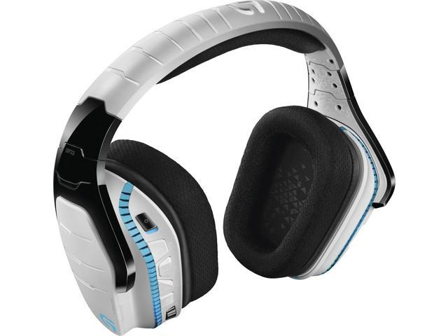 Logitech G933 Artemis Spectrum Wireless RGB 7 1 Dolby and DST Headphone  Surround Sound Gaming Headset - White - Newegg com
