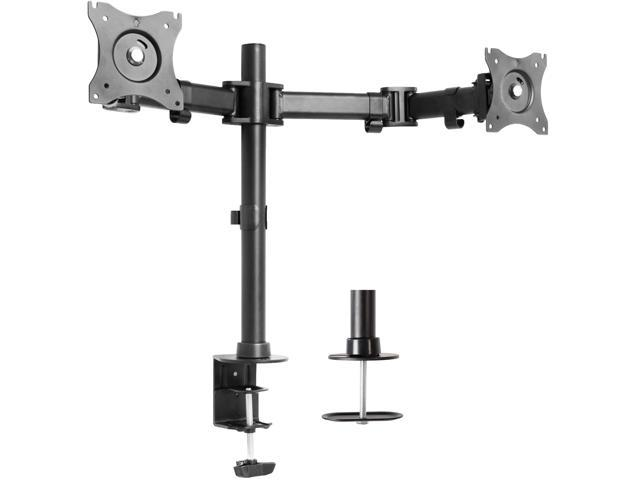"""Triple Monitor Adjustable Mount Articulating Stand for 3 LCD Screens up to 24/"""""""