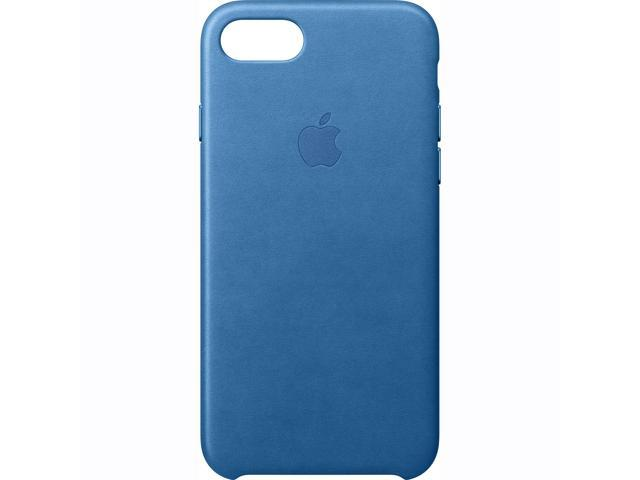 blue leather iphone 7 case