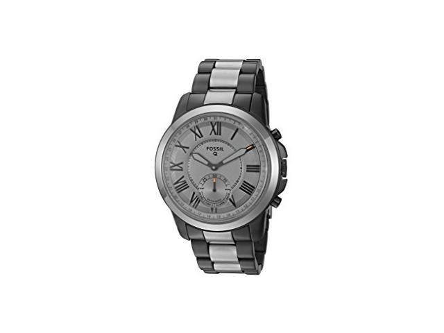 Refurbished Fossil Hybrid Smartwatch Q Grant Smoke Stainless