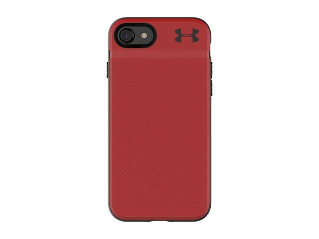 differently a41e6 48f5b Refurbished: Under Armour UA Protect Stash Case for iPhone 8/7 - Red/Black  - Newegg.com