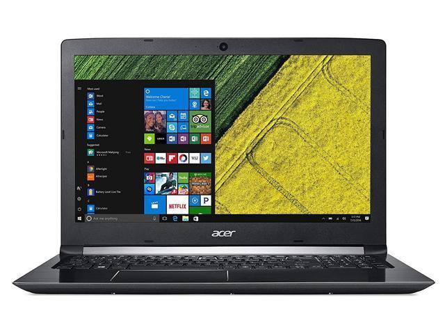 "Acer Aspire 5 Home and Business Laptop Black (Intel i5-8250U 4-Core, 8GB RAM, 256GB SSD, 15.6"" Full HD (1920x1080), Intel UHD 620, Wifi, Bluetooth, Webcam, 1xUSB 3.0, 1xHDMI, SD Card, Win 10 Home)"