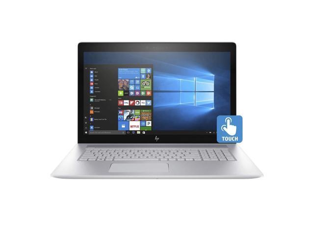 "HP ENVY - 17t Home and Business Laptop (Intel i7-10510U 4-Core, 16GB RAM, 128GB SSD + 1TB HDD, 17.3"" Touch Full HD (1920x1080), NVIDIA GeForce MX250, Fingerprint, Wifi, Bluetooth, Win 10 Home)"