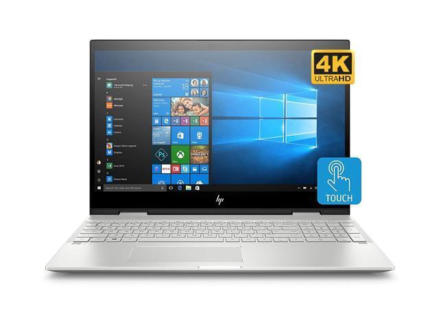 "HP ENVY x360 - 15t Home and Business Laptop (Intel i7-10510U 4-Core, 16GB RAM, 512GB PCIe SSD, 15.6"" Touch 4K UHD (3840x2160), NVIDIA GeForce MX250, Active Pen, Fingerprint, Wifi, Win 10 Home)"