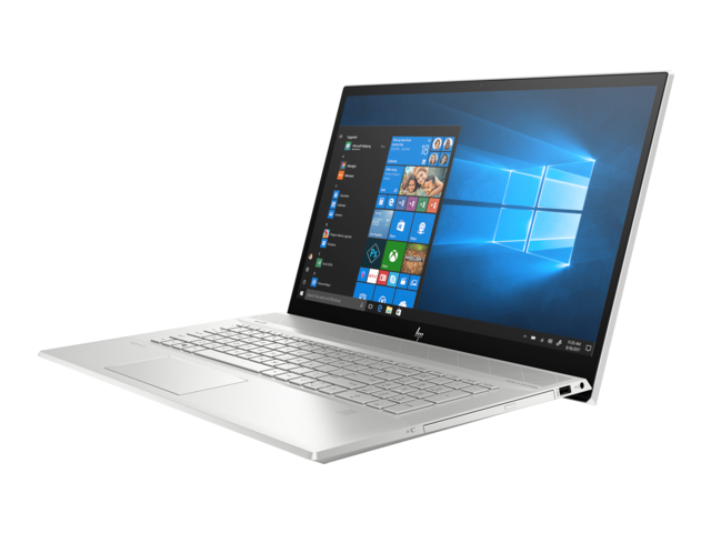 "HP ENVY 17t i7 Touch Home and Business Laptop (Intel i7-8565U 4-Core, 16GB RAM, 512GB SSD, 17.3"" Touch Full HD (1920x1080), NVIDIA GeForce MX250, Fingerprint, Wifi, Bluetooth, Webcam, Win 10 Pro)"