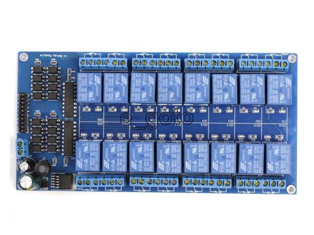16-Channel 12V Relay Shield Module with Optocoupler Low Level Triger for  Arduino Mega - Newegg ca