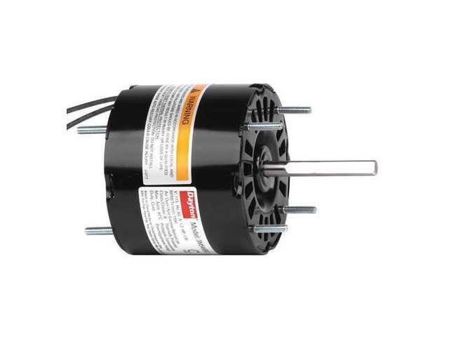 DAYTON HVAC Motor,1//30 HP,1550 rpm,115V,3.3 71637609M