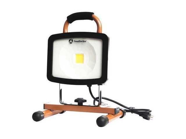Southwire Company 3177 Lumens, LED Temporary Job Site Light, L1325SW ...