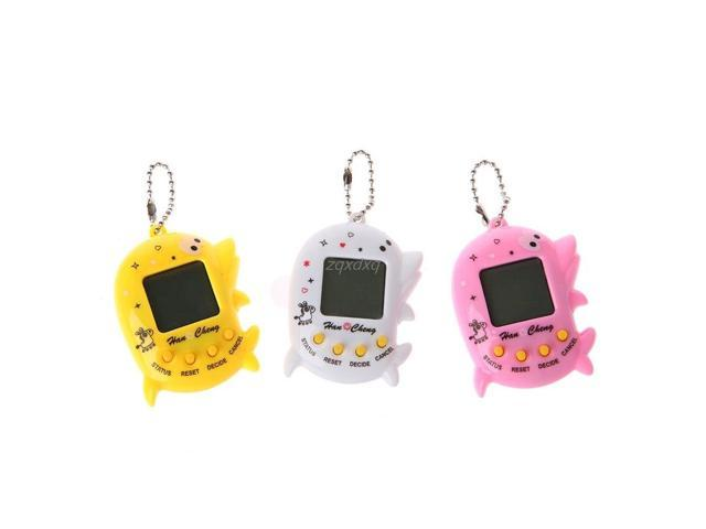 Dolphin Shape LCD Virtual Digital Pet Electronic Game Machine With Keychain  For Children Handheld Game Machine Nov09 Drop Ship - Newegg com