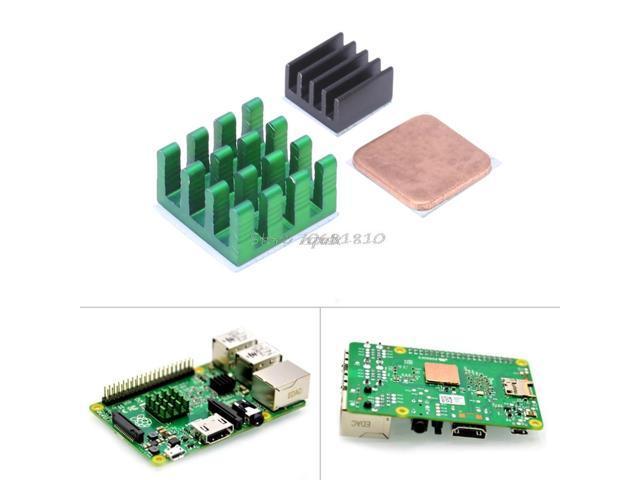 10Pcs Copper Heat Sink Heatsink Cooler Set For Raspberry Pi Rpi All Models b