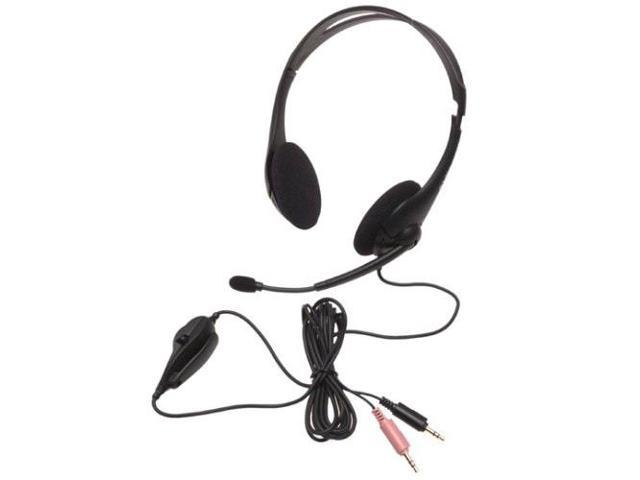 Labtec Axis502 Deluxe Stereo Headset With Boom Microphone Newegg Com