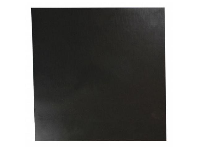 "JAMES 1600-1//8A Rubber Sheet,EPDM,1//8/""Thick,12/""x12/"",60A E"