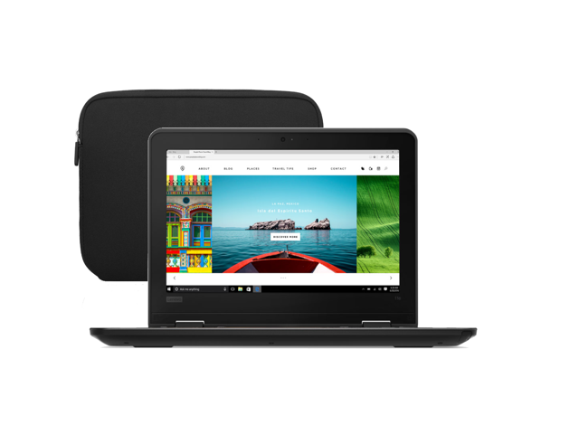 """Refurbished: Lenovo ThinkPad 11e 11.6"""" Chromebook 4GB Ram, 16GB SSD, Intel CPU 1.83 GHz with Fitted Sleeve Case - OEM"""
