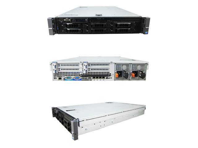 DELL PowerEdge R710 2 x 2 80Ghz X5560 Quad Core 48GB 6i 2PS - Newegg com