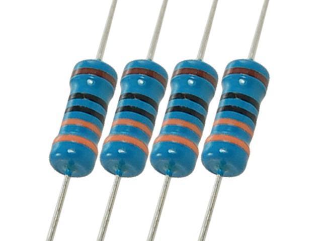1/% 1W Metal Film Resistor Tolerance Set of 15 Pieces 100K Ohm 1 Watt