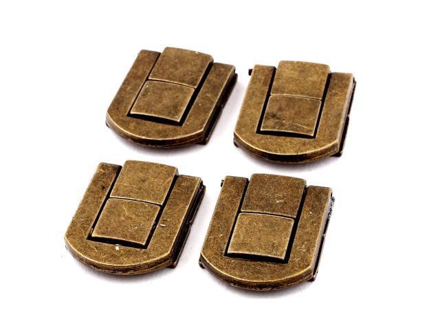 eb594577dc Guitar Musical Cases Cabinet Drawbolt Closure Latch Bronze Tone 4PCS