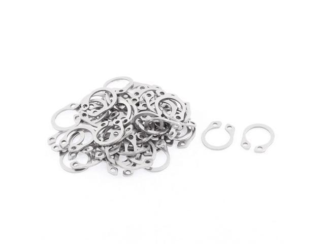 11mm Stainless Steel Internal Retaining Rings 20Pcs