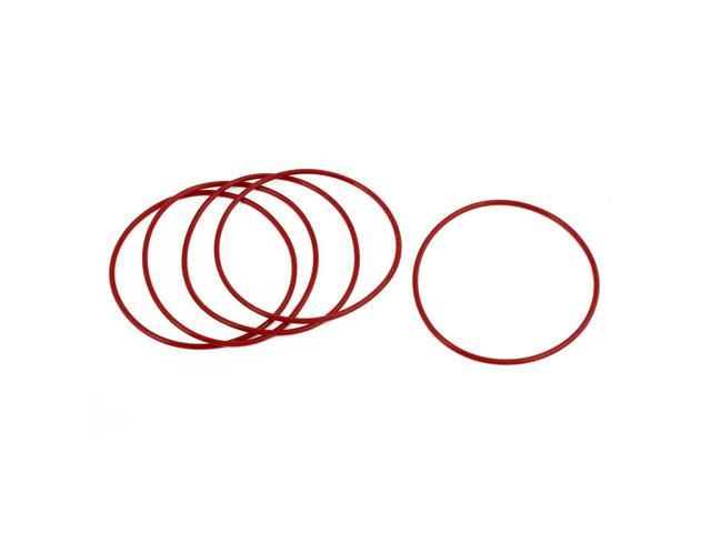 50 Pcs Black Rubber 29mm x 25mm x 2mm Oil Seal O Rings Gaskets Washers