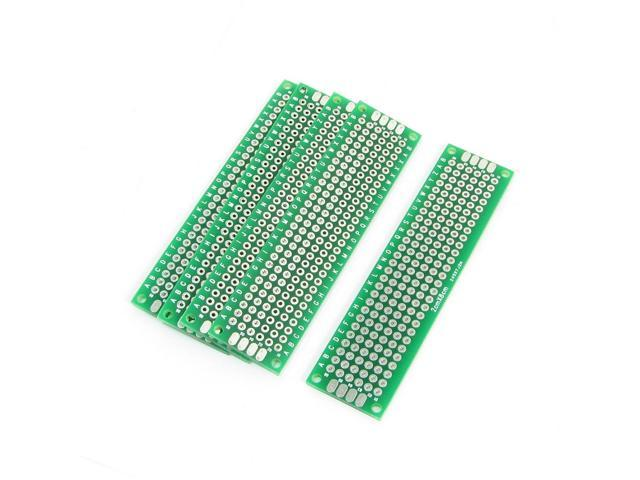 Two Sides 2 5mm Pitch PCB Prototype Universal Board 2cmx8cm 5PCS -  Newegg com