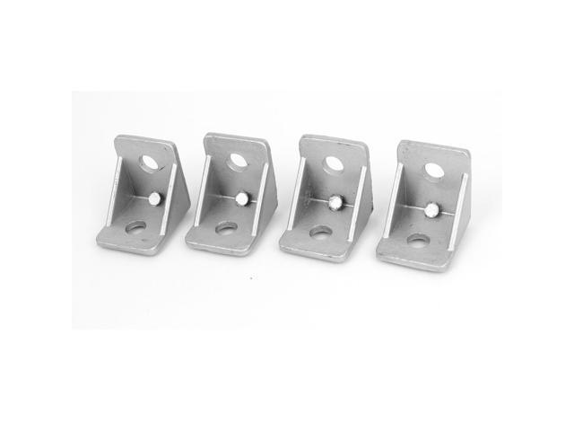 90 Degree 30mmx30mm 2 Holes Right Angled Shelf Corner Brace Angle Bracket