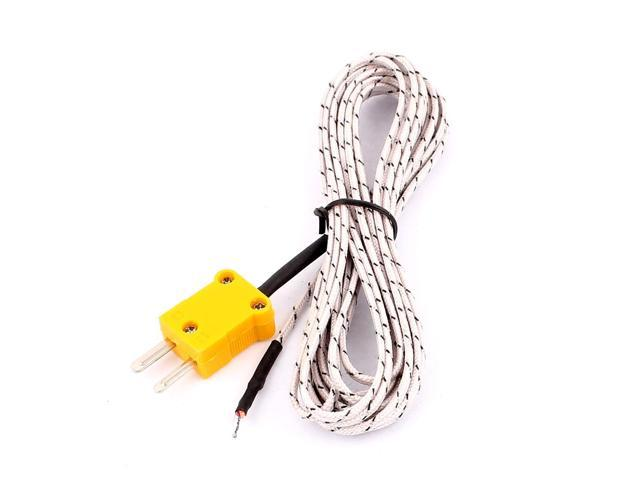 Probe Cable Wire Temperature Test K-type TP-01 Thermocouple Sensor Wires