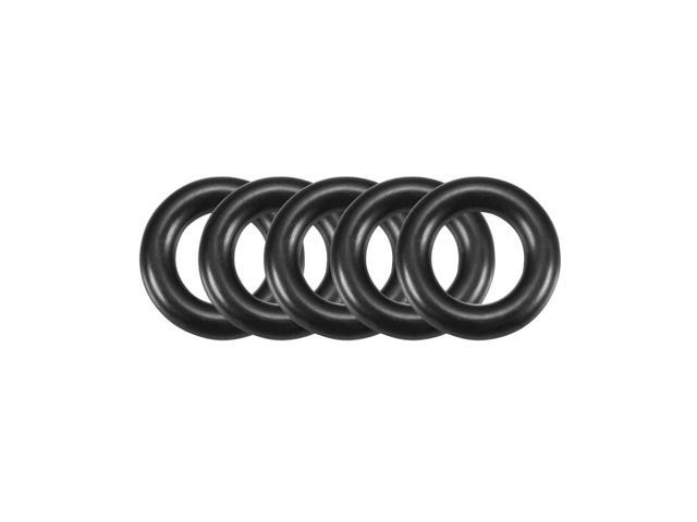 20Pcs Black 36 x 2mm Industrial Flexible Rubber O Ring Oil Sealing Grommets
