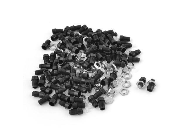 Unique Bargains 100 Pcs Spacer Insert 3mm Plastic LED Diode Holder Bezel  Replacements - Newegg com