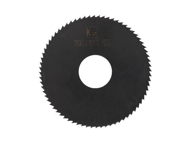 40mmx1.5mm 72 Teeth HSS Circular Slitting Saw Cutter Cutting Tool