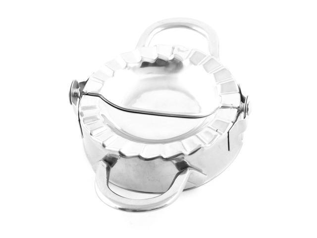 Unique BargainsKitchenware Stainless Steel Dumpling Wonton Press Making  Mold Tool Silver Tone - Newegg com