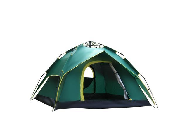 Folding 6 Sections Fibreglass Tent Pole Support Tent Tarp Awning Frames Replacement Sun Rain Shelter for Hiking Camping Dilwe Camping Tent Pole