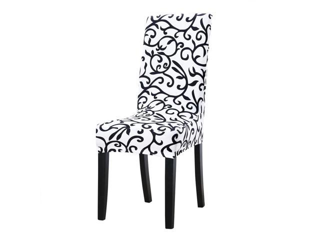 Swell Stretch Chair Covers Shorty Dining Chair Slipcovers White Black Pdpeps Interior Chair Design Pdpepsorg