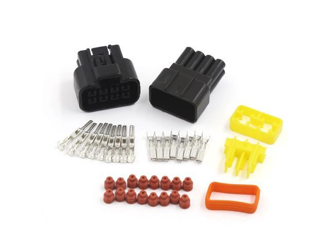 1 Sets Auto Car 4 Pin Way Sealed Waterproof Electrical Wire Connector Plug  JT