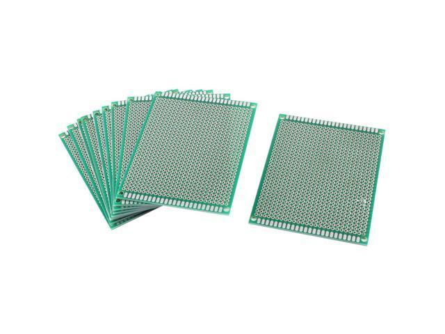 5Pcs Double side Protoboard Circuit Universal DIY Prototype PCB Board 7cmx9cm