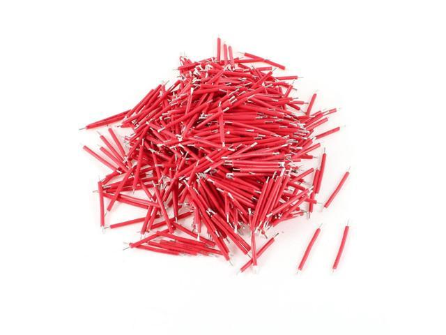 500pcs Red Pvc Coated 0 7x25mm Tin Plated Brushless Motor