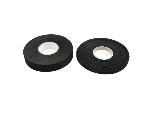 Superb 2 In 1 Black Universal Adhesive Cloth Fabric Auto Car Wiring Harness Wiring 101 Akebwellnesstrialsorg