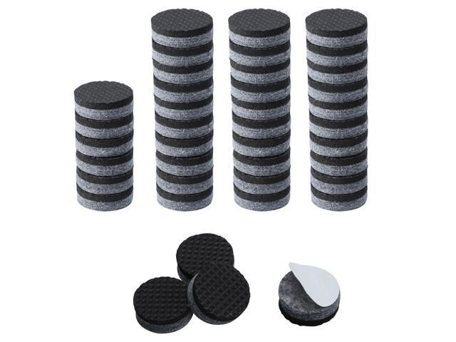 Brilliant 40Pcs Furniture Felt Pads Round 7 8 Furniture Grippers Self Stick Slip Resistant Prevent Scratch Pads For Cabinet Chair Feet Leg Protector Gray Squirreltailoven Fun Painted Chair Ideas Images Squirreltailovenorg