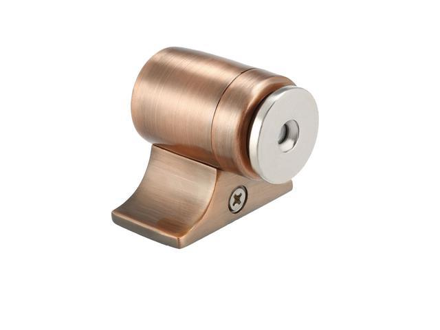 Magnetic Door Stopper Metal Door Stop Catch Holder with Screws Bronze Tone