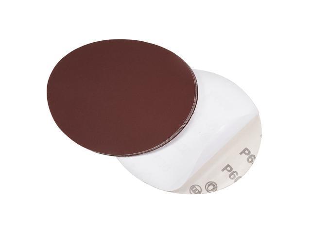 5-Inch PSA Sanding Disc Aluminum Oxide Adhesive Back Sandpaper 2000 Grain 10 pieces
