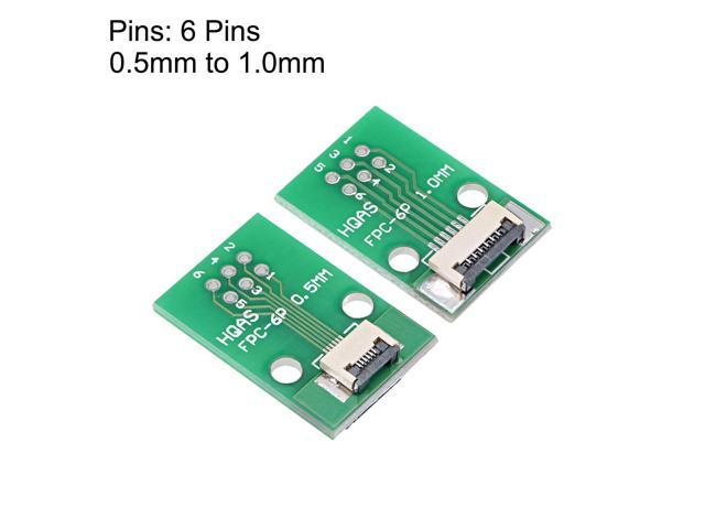 FFC FPC 6 Pin 0.5mm Pitch to DIP 1.0mm PCB Converter Board Couple Extend Adapter