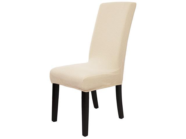 Remarkable Knit Spandex Stretch Fit Dining Room Chair Cover Slipcover Removable Washable Dining Banquet Chair Protector For Home Party Hotel Wedding Ceremony Bralicious Painted Fabric Chair Ideas Braliciousco