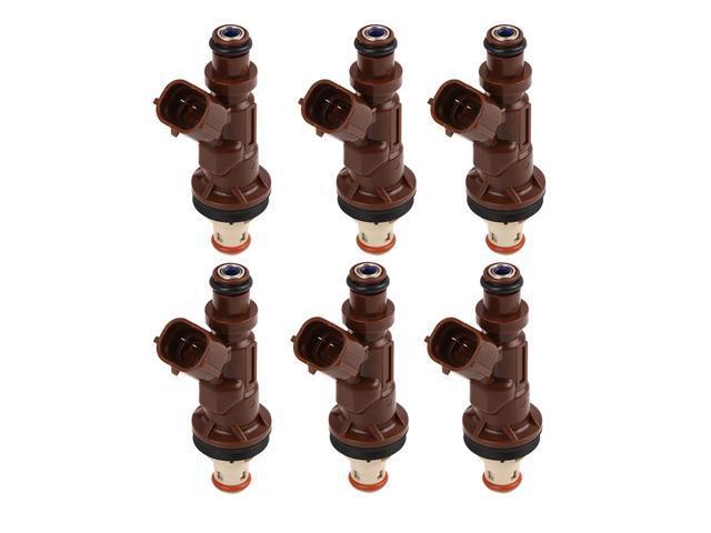 6PCS Fuel Injector For TOYOTA Tacoma Tundra 4Runner 3.4L V6 23250-62040