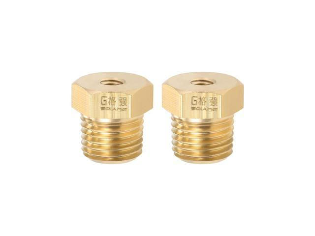 "1//4/"" female to 3//16/"" male adapter Brass Fitting"