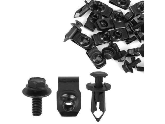 Engine Splash Shield Bumper Hardware Kit Bolts Clips for G35 G37 350Z 370Z FX35