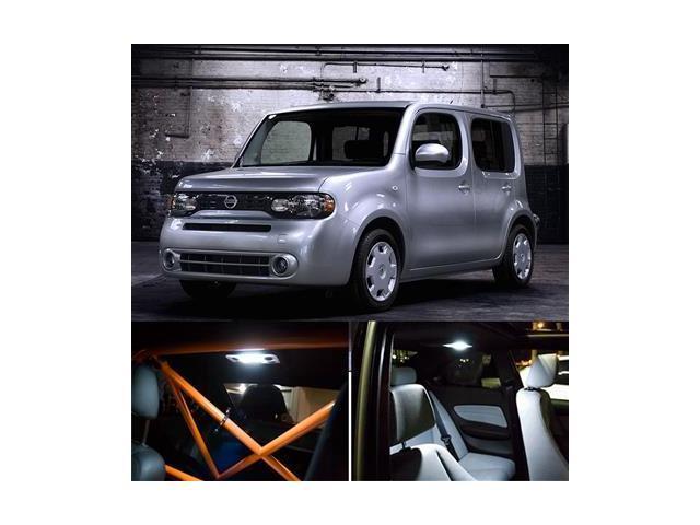 2009-2013 Nissan Cube Interior Light Kit & License Plate - White -  Newegg com
