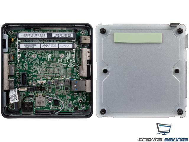Intel Nuc8i5bek Mini Pc Htpc Intel Core I5 8259u Up To 3 8ghz 8gb Ddr4 256gb Ssd Wifi Bluetooth 5 0 4k Support Dual Monitor Capable Windows 10 Pro Newegg Com