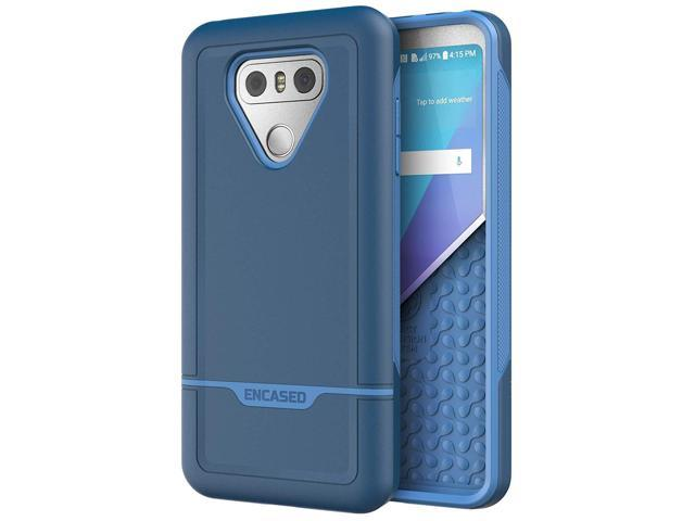 LG G6 Phone Case - Encased [Rebel Series] Protective Dual Layer Military  Grade Cases for LGG6 - Blue - Newegg com